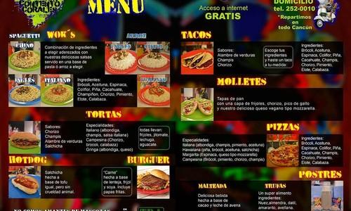 Corazon contento corales menu