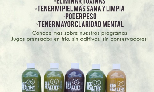 Beehealthy folleto