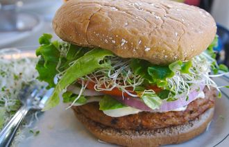1024px veggie burger flickr user divinemisscopa creative commons